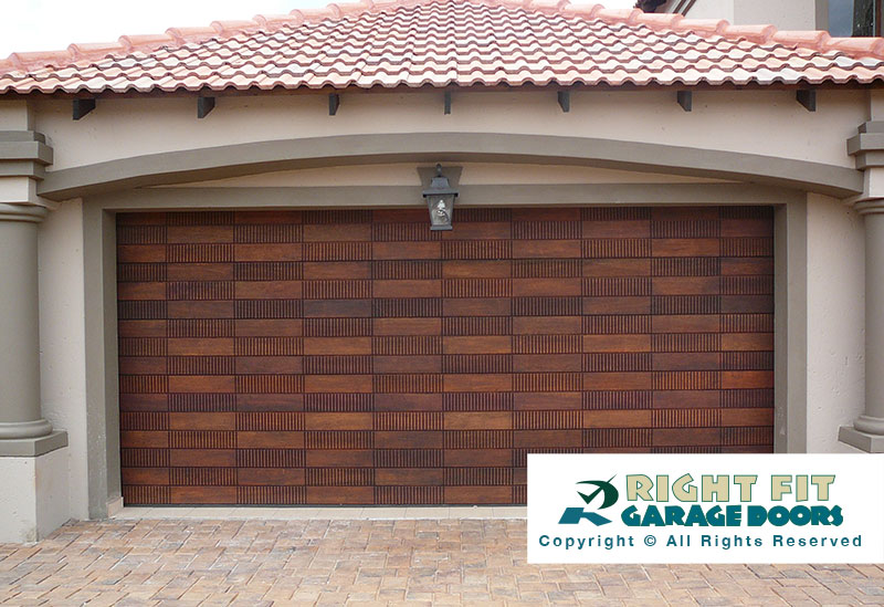 Rightfit Garage Doors Wooden Garage Doors Garage Doors Pretoria