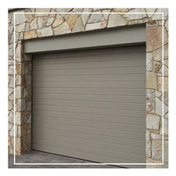 Aluminium Matt Stone Garage Door