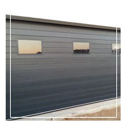 Aluminium Charcoal Square Windows