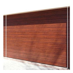 Aluminium Garage Door Cape Oak