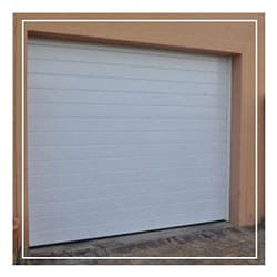 White Aluminium Garage Doors
