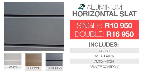 Double Aluminium Garage Doors Prices Rightfit