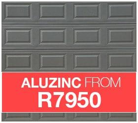 Aluzinc Garage Door