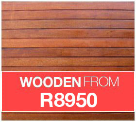 Wooden garage doors for sale image