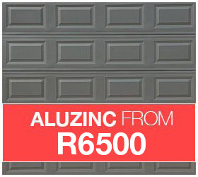 aluzinc garage doors for sale image