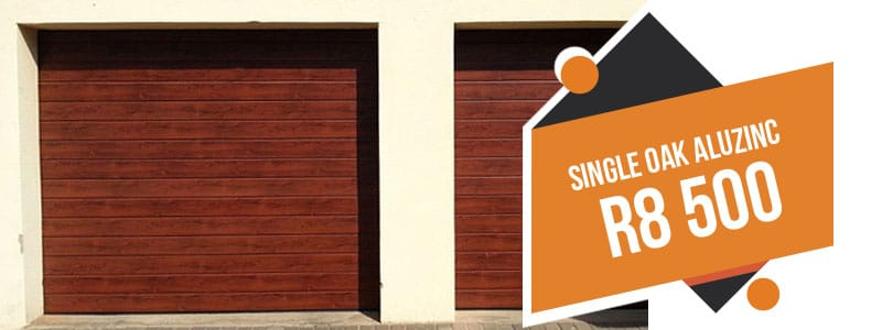 aluzinc garage doors prices