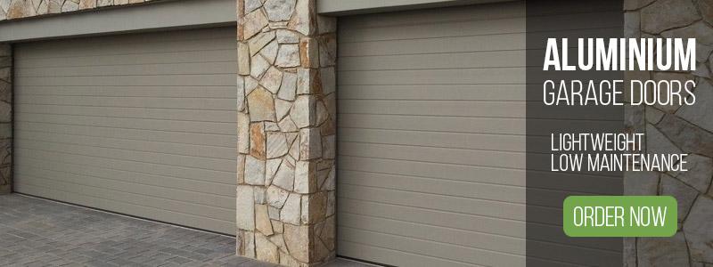aluminium garage doors image