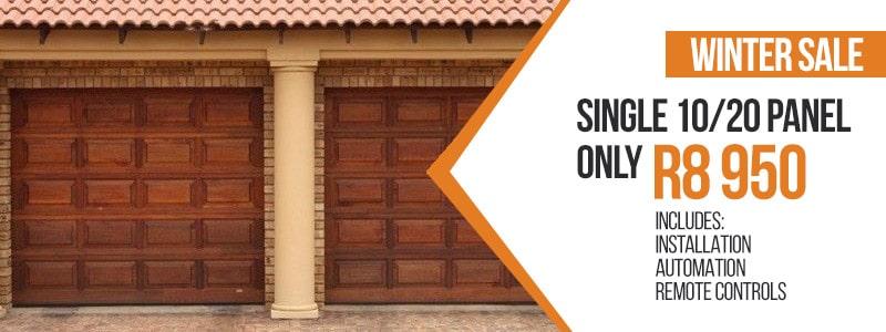 Sale Wooden Garage Doors